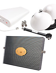 GSM900 DCS1800 3G 2100MHZ Tri band signal repeater coverage 1000m2