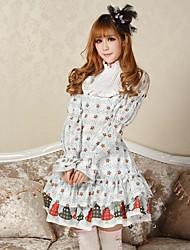 Beautiful Princess Christmas Lucky  Lolita  Dress  Classy Lovely