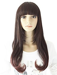 Heat-resistant   Long High Quality Synthetic Wavy Wig