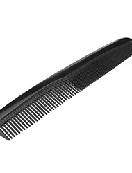 Black Anti-static Haircut Comb Thick Teeth and Wide Teeth 2 in 1 HT32