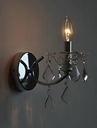 Brève K9 en cristal moderne Applique Miroir Lumière