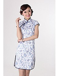 Women's Collar Fashion Temperament Show Thin The Chinese Dress