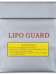 RC LiPo Segurança da bateria Bag Safe Guard carga Sack Cor Prata (Small)