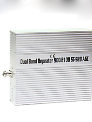 GSM900 3G 2100mhz Dual band signal repeater amplifier unit coverage 1000m2
