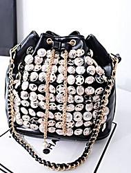 Wemon Button Badges Fashion the New Trend of Single Shoulder Bag