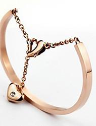 Fahion des femmes pour toujours le bracelet de coeur d'amour