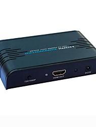 VGA to HDMI Converter HLS352(Multiple Frequency 1080P)(European standard socket)