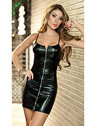 Women's Dresses , Leather Casual Nightyan