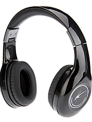 Koniycoi KT-4300MV Stereo Headphone dobrável On-Ear com microfone e remoto