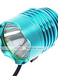 Luces para bicicleta , Luces Frontales / Linternas de Cabeza - 3 Modo 1200 Lumens A Prueba de Agua / Recargable 18650 Batería