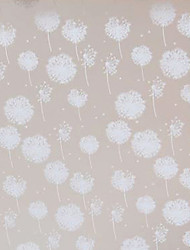 Classic Minimalism White Dandelion Dreams Window Film