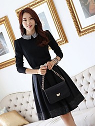JFS Korea Sytle Women's Elegant Slim Fit Dress