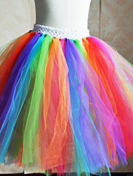 Kids' Dancewear Tutu Ballet Colorful Tulle  Dance & Party Dress Kids Dance Costumes