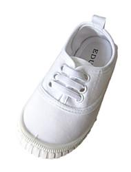 Холст Детские плоский каблук Комфорт Мода кроссовки обувь (больше цветов)