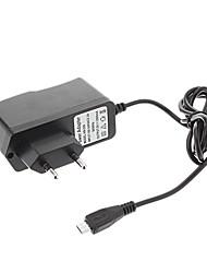 B-351 Norme européenne AC / DC adaptateur secteur / chargeur Micro pour tablette (5V, 2000mA, Noir)