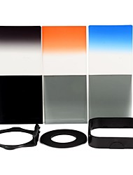 SHSYKJ06 10-en-1-3 progressifs Filtres / 3-ND Objectif + Ring + Mount Set de 52mm Camera Lens - Noir