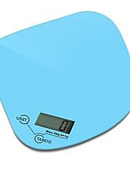 Escala de la cocina digital portátil (0 ~ 5 kg, 1 g, 1x3V CR2032)