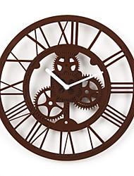 "12""H Modern Style Gears Wall Clock"