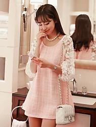 Женская шею платье