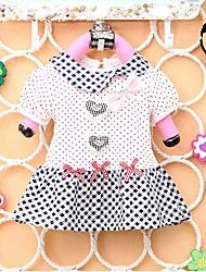 Mädchen-Mode-T-Shirts mit Bogen-reizende Prinzessin-Sommer-T-Shirts