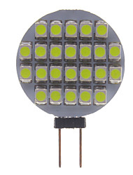 G4 1W 100-150LM 24 Led Car Lâmpadas-White (12V)
