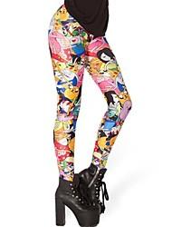 Moda feminina Adventure Time Bro Bola Leggings