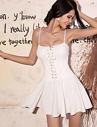 Women's Dresses , Chiffon Zann