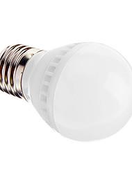 3W E26/E27 Ampoules Globe LED A50 10 SMD 2835 250-280 lm Blanc Chaud Audio-activé AC 100-240 V