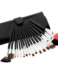 16pcs Sable Hair Professional Makeup Brushes Set
