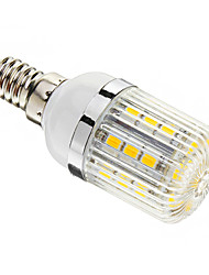 4W E14 LED Mais-Birnen T 30 SMD 5050 400 lm Warmes Weiß Dimmbar AC 110-130 V