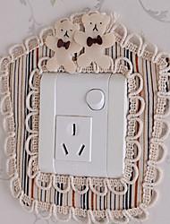 Stripe Pentagon Light Switch Stickers