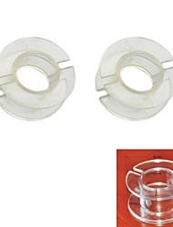 Jtron Outside Diameter 30mm Transparent Coil Skeleton / Inductance Skeleton  (2 PCS)