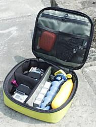 Tamanho M Tempo Soft Case resistente para GoPro Camera (luz amarela)