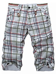 verão moda casual shorts masculinos