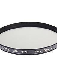 ZOMEI Camera ottici professionali cornice Stelle 4 Filter (77 millimetri)