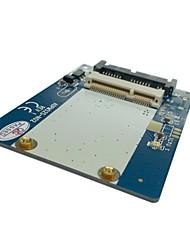 "3.3v mSATA SSD da 1,8 ""Micro SATA 7 adattatori +9 16pin PCBA per SSD Hard Disk"