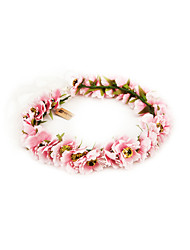 Silk Bridal / Blumenmädchen Kranz (weitere Farben)