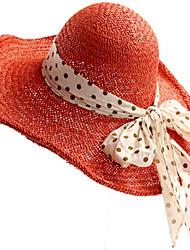 Plage vacances d'été de femmes de vacances chapeaux de paille