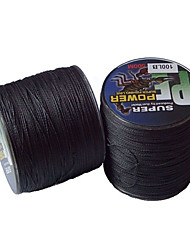 70-100LB 500M PE Braid Black Fishing Line
