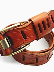 Men Waist Belt , Vintage/Cute/Party/Work/Casual Alloy