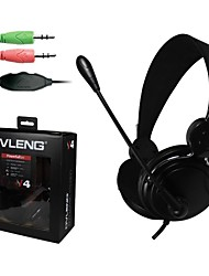 Headphone 3.5mm Over Ear Stereo Gaming With Microphone Volume Control for PC/Computer/MP3