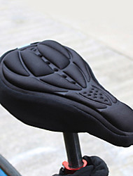 Bike Seat Saddle Cover BMX Silica Gel Black / Light Lavender