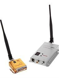 1.2G 8ch 800mW Câmera de Vídeo AV Audio Transmitter Receiver com cabo para FPV OSD