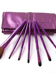 Colors Fiber Texture 7 PCS Set Cosmetic Brushes