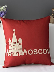 Classic High Fashion Falling in Love with Moscow Decorative Pillow Cover