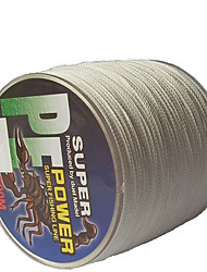 70-100LB 500M PE Braid White Fishing Line