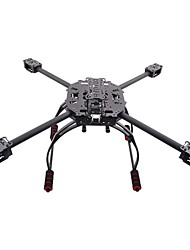 Kit Quadro HJ-6504 Fibra de Carbono Folding 4 eixos Quadcopter