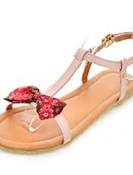 женская плоским пятки флип-флоп сандалии с бантом обувь (больше цветов)