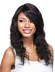 "14"" 100% Indian Redmy Full Lace Body Wavy Wig"