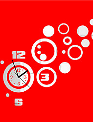 "25.5 ""H Modern Style Bubble Rudder Mirror Wall Clock"